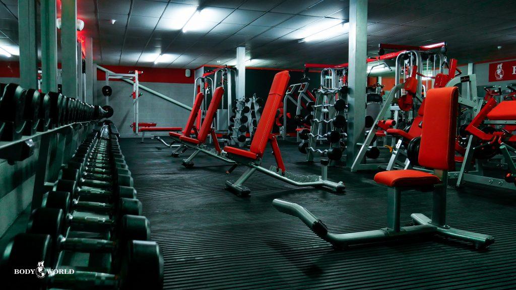 Bodyworld Gym Taunton Ground Floor