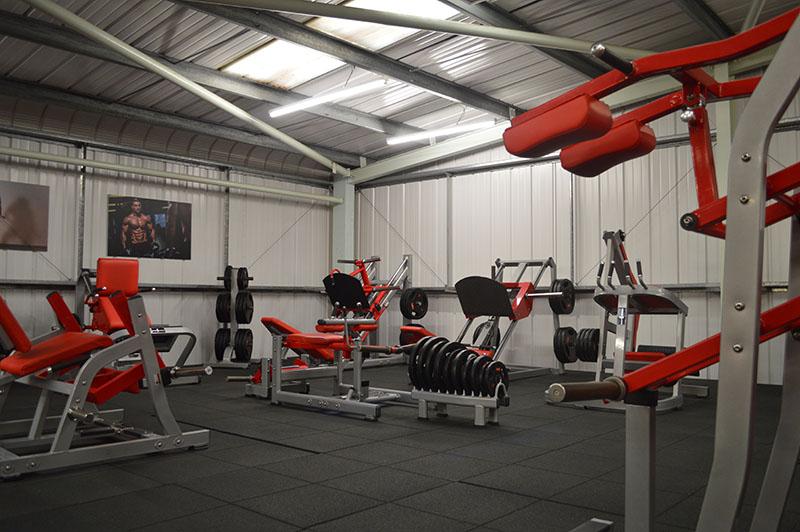 Bodyworld 1st Floor Leg Press Area