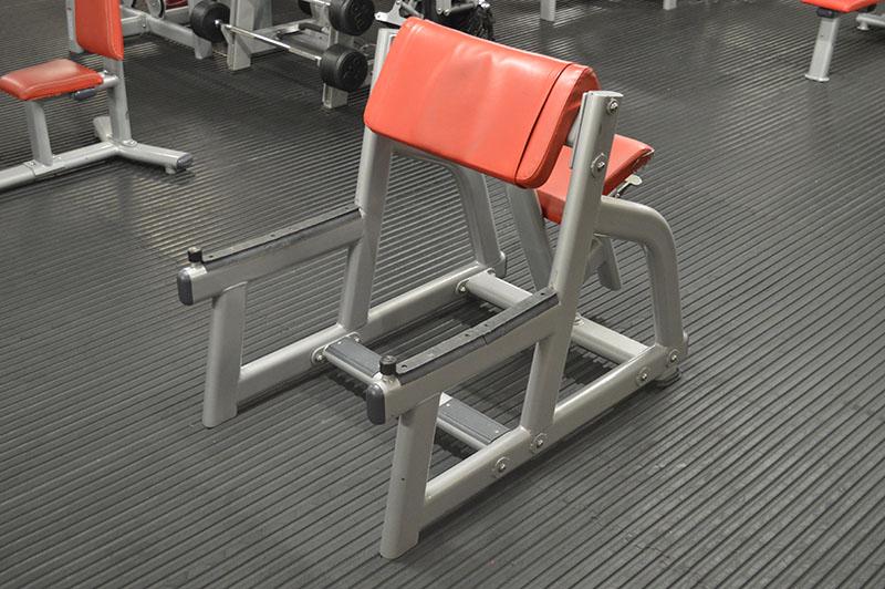 Bodyworld Free Weight Preacher Curl Bench