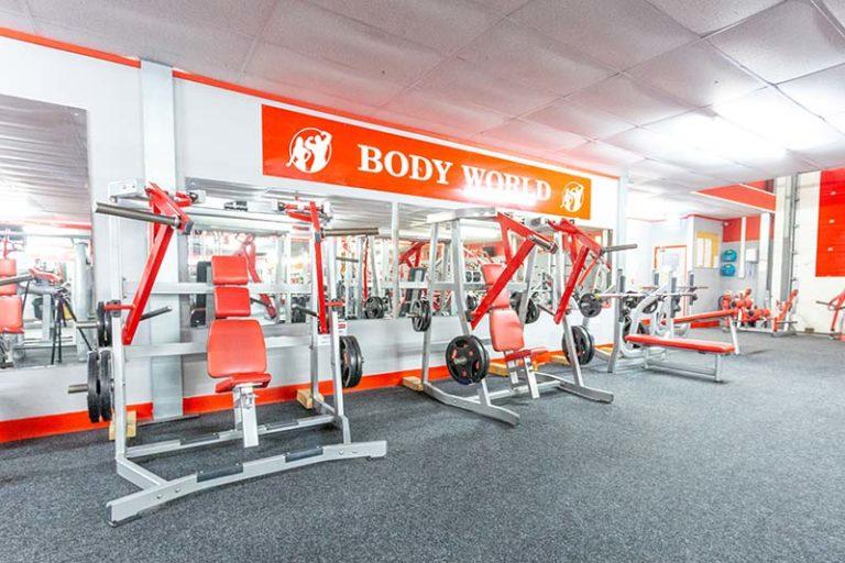 Bodyworld Taunton Ground Floor