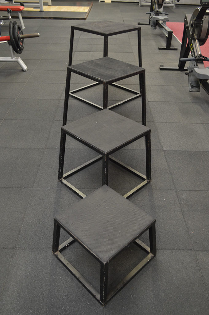 Bodyworld Heavy Duty Steel Plyo Boxes