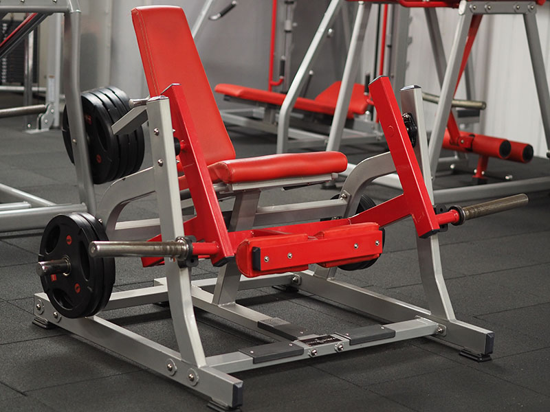 Bodyworld Leg Extension Plate Loaded Machine