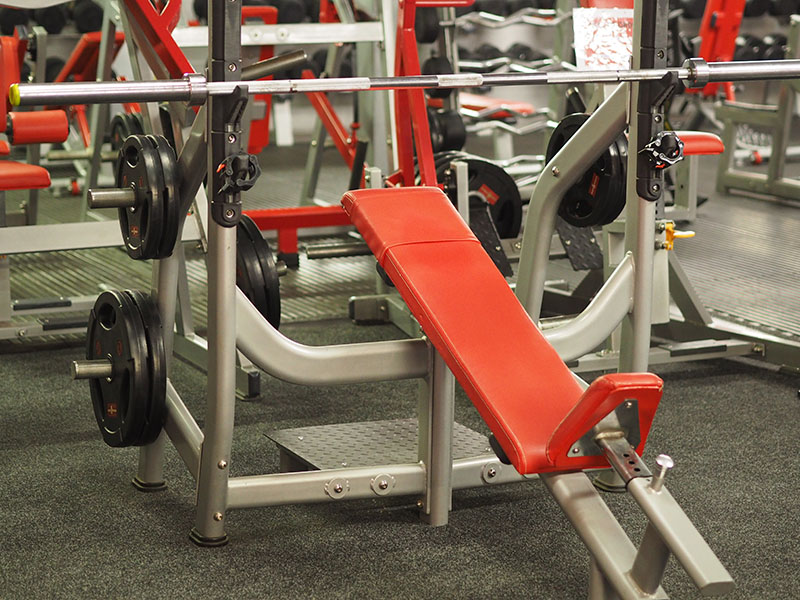 Bodyworld Olympic Incline Bench Barbell
