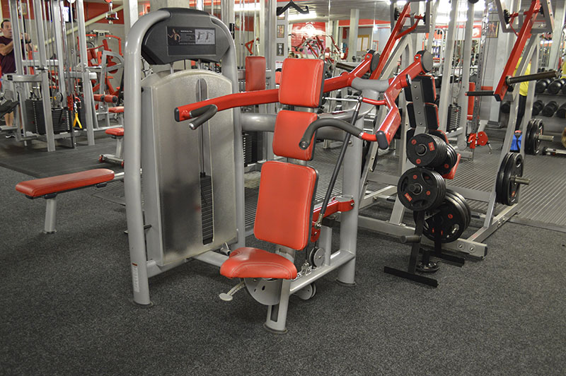 Bodyworld Seated Cable Shoulder Press