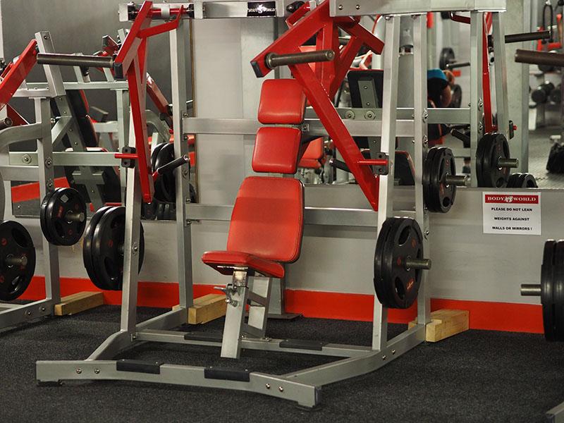 Bodyworld Seated Flat Machine Press