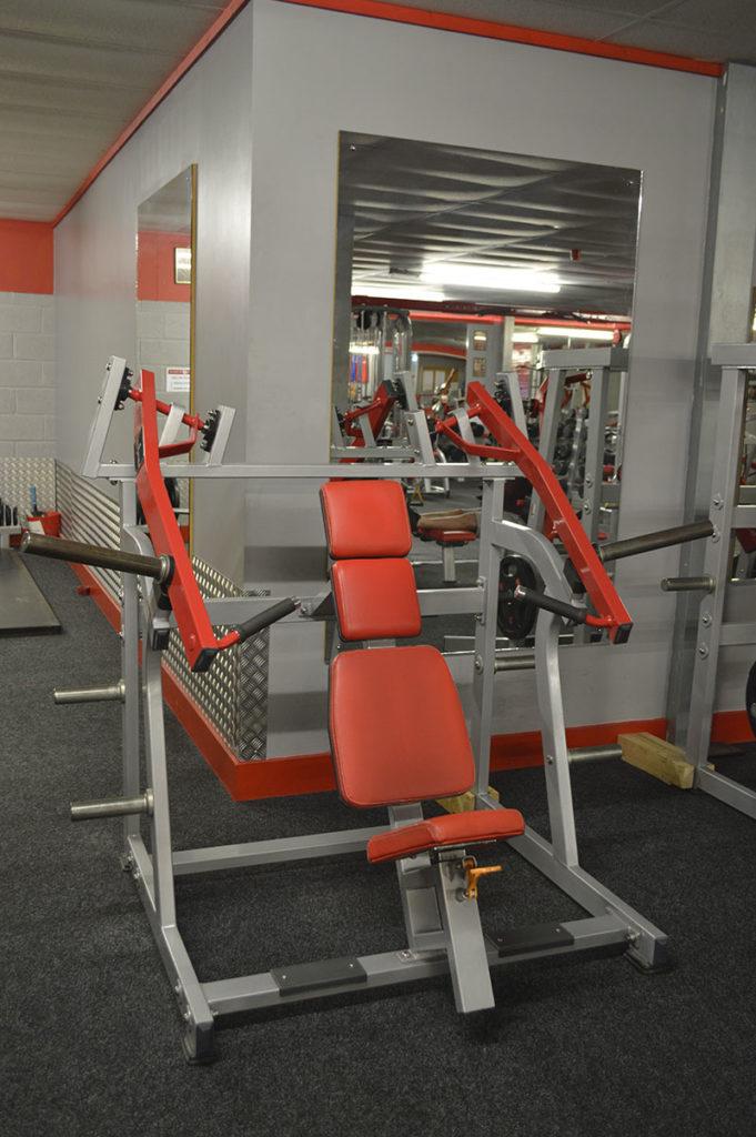 Bodyworld Seated Super Incline Press