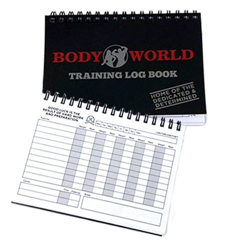 Bodyworld Training Log Book