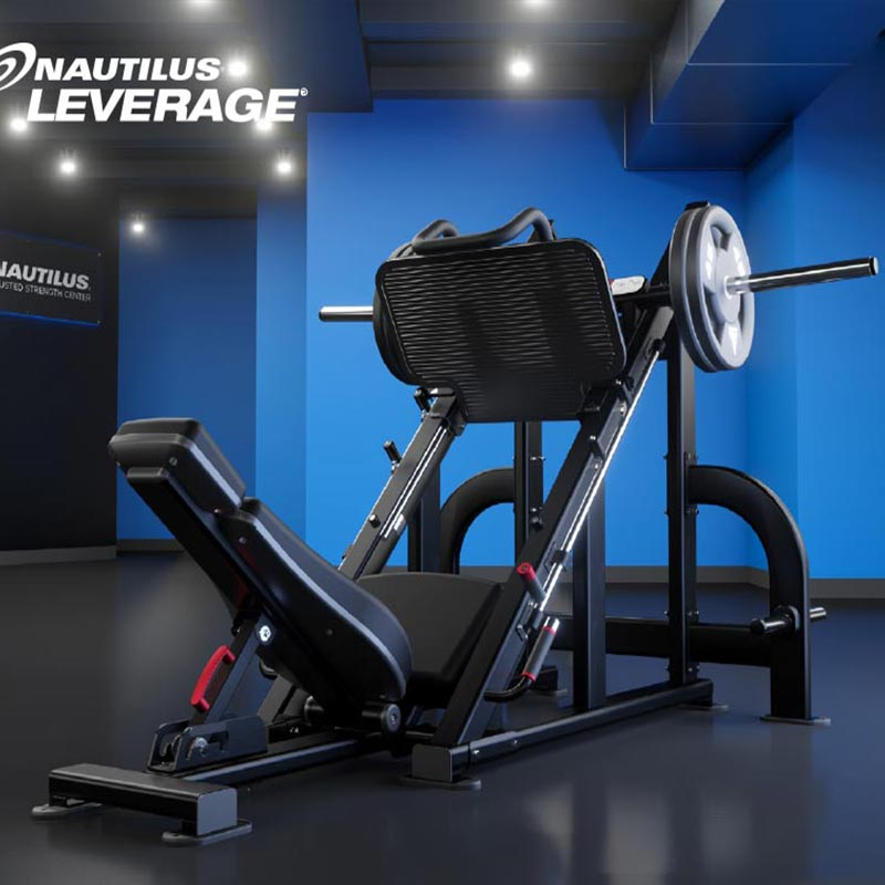 Nautilus Leverage Angled Leg Press