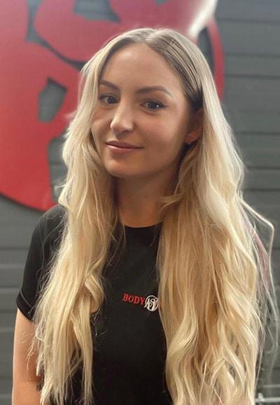 Bodyworld Plymouth Nina Valentine Gym Assistant
